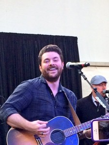 Chris Young performs during Swimville