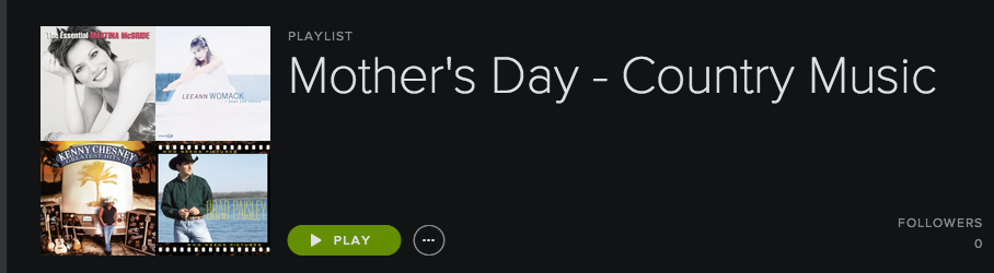 Country Music Mother's Day