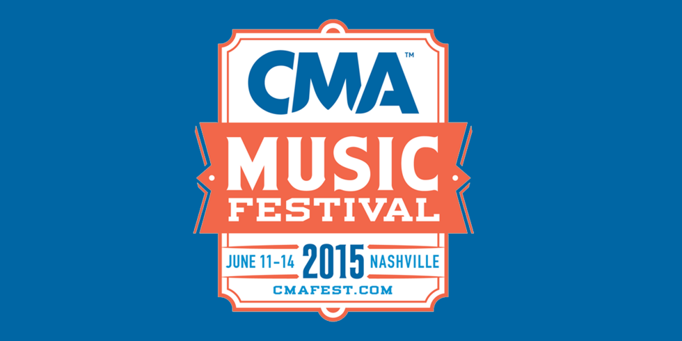 2015 CMA Music Festival logo BLUE