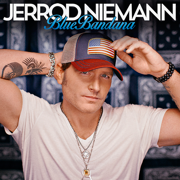 Jerrod Niemann Blue Bandana