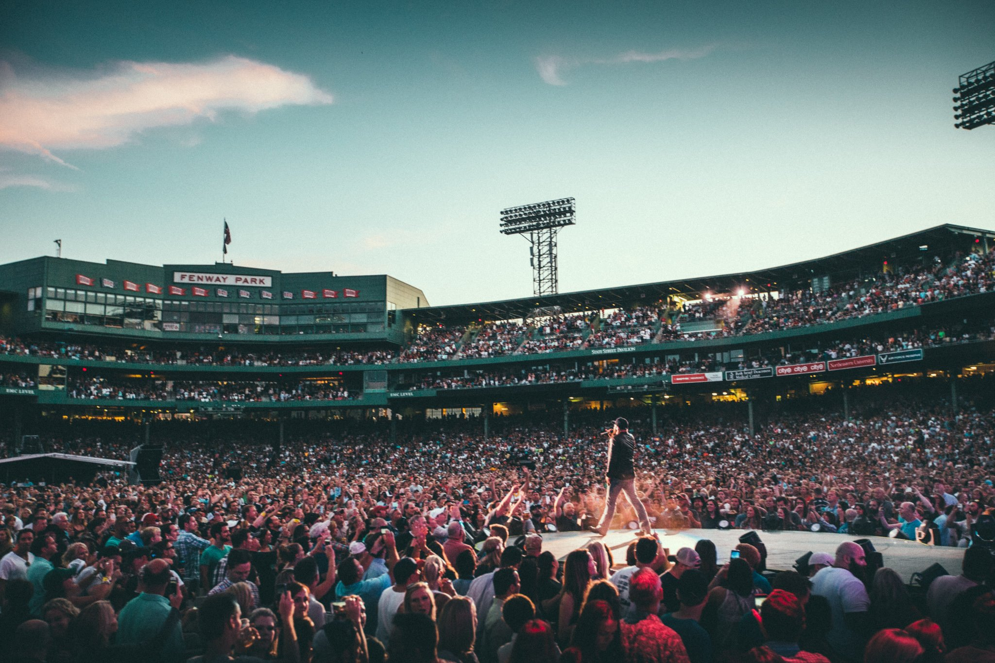 Zac Brown Band at Fenway Park