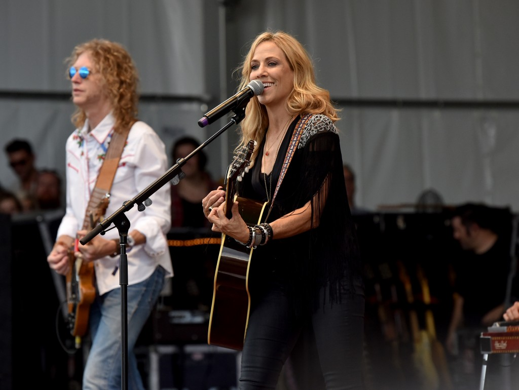 FRANKLIN, TN - SEPTEMBER 26:  Sheryl Crow performs onstage during Pilgrimage Music & Cultural Festival on September 26, 2015 in Franklin, Tennessee.  (Photo by Erika Goldring/Getty Images for Pilgrimage Music & Cultural Festival)