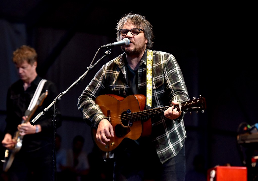 FRANKLIN, TN - SEPTEMBER 26:  Jeff Tweedy of Wilco performs onstage during Pilgrimage Music & Cultural Festival on September 26, 2015 in Franklin, Tennessee.  (Photo by Erika Goldring/Getty Images for Pilgrimage Music & Cultural Festival)