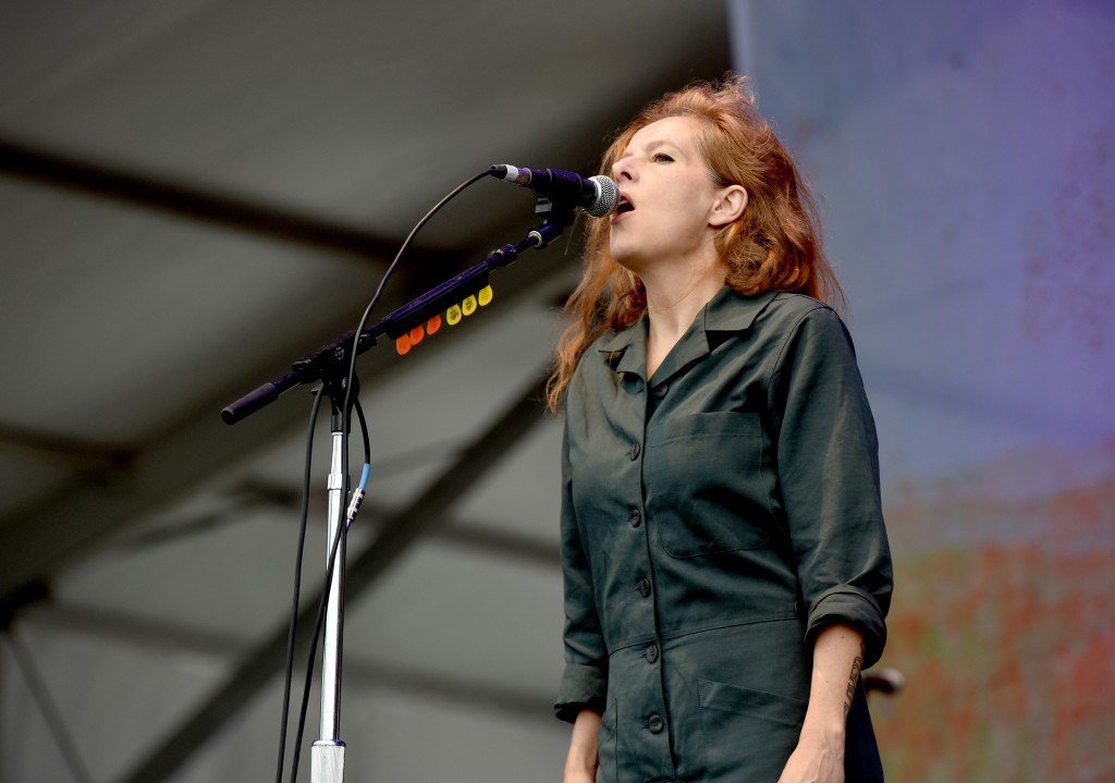 FRANKLIN, TN - SEPTEMBER 26:  Neko Case performs onstage during Pilgrimage Music & Cultural Festival on September 26, 2015 in Franklin, Tennessee.  (Photo by Erika Goldring/Getty Images for Pilgrimage Music & Cultural Festival)