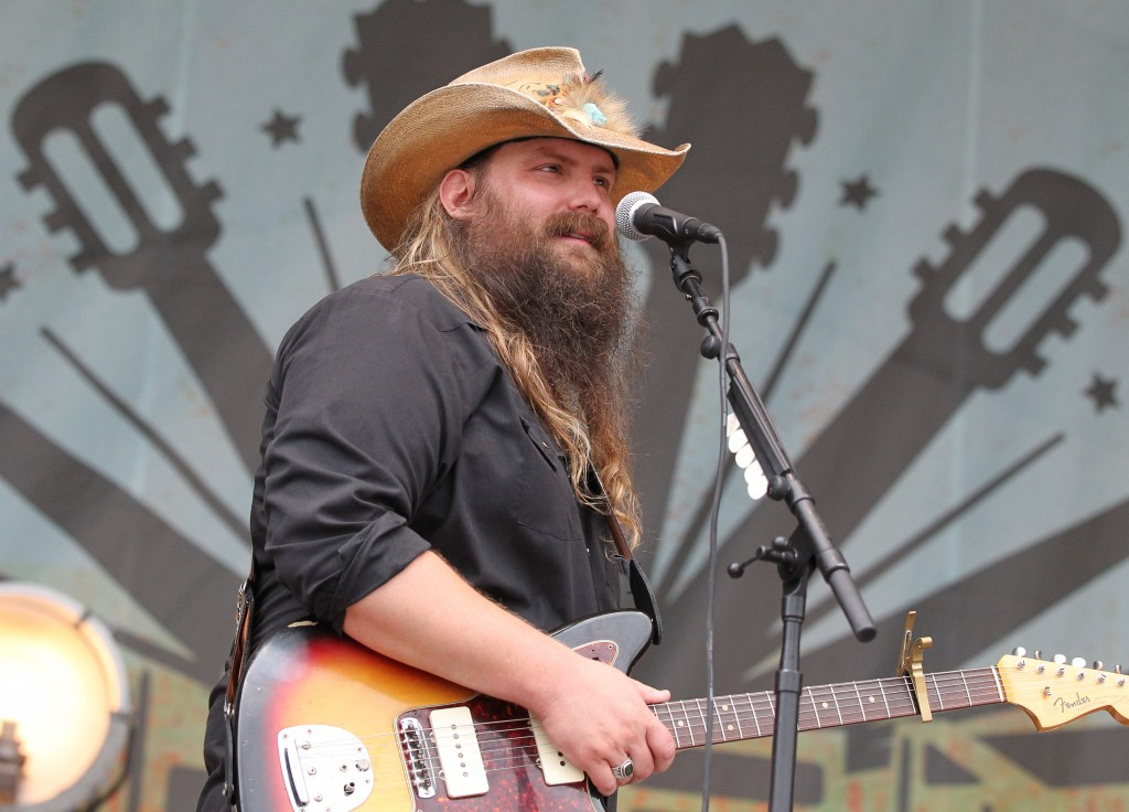 Chris Stapleton takes the stage at the inaugural Pilgrimage Music & Cultural Festival (photo credit - Terry Wyatt)