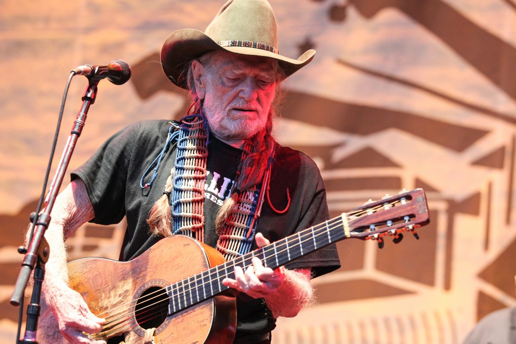 Willie Nelson closes out the inaugural Pilgrimage Music & Cultural Festival (photo credit - Terry Wyatt)