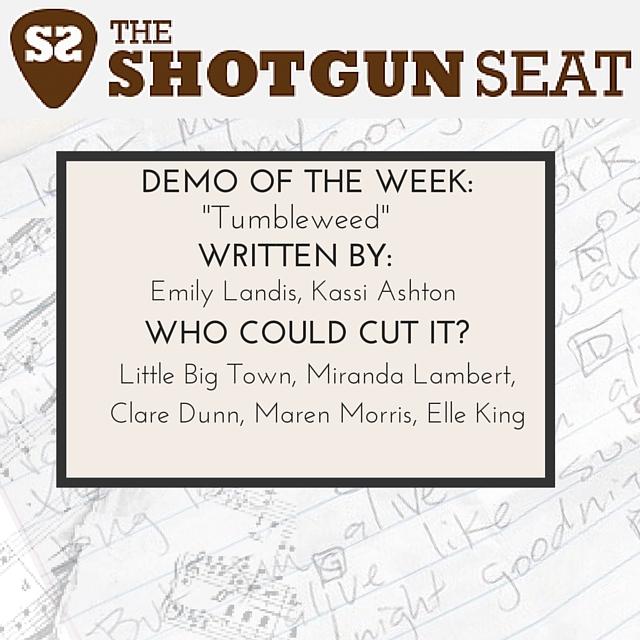 """Demo of The Week: """"Tumbleweed"""" (Emily Landis, Kassi Ashton)"""