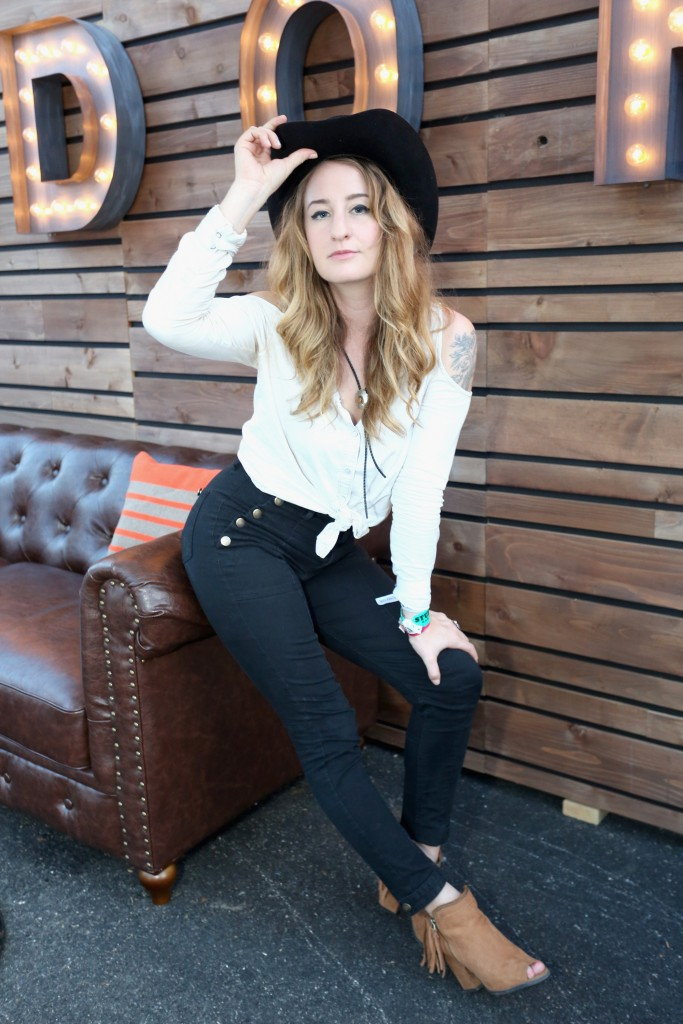 """""""AUSTIN, TX - MARCH 17:  Musician Margo Price attends the PANDORA Discovery Den SXSW on March 17, 2015 in Austin, Texas.  (Photo by Rachel Murray/Getty Images for Pandora)"""""""