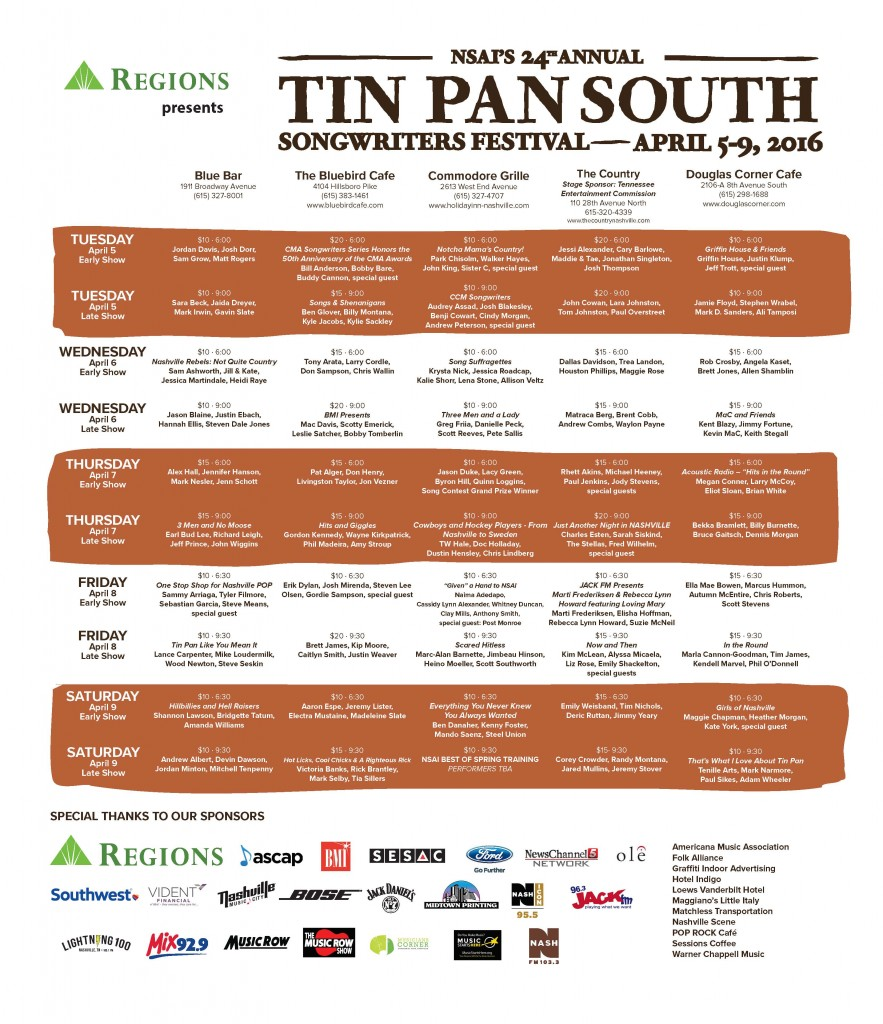tin pan south schedule 2016 page 2