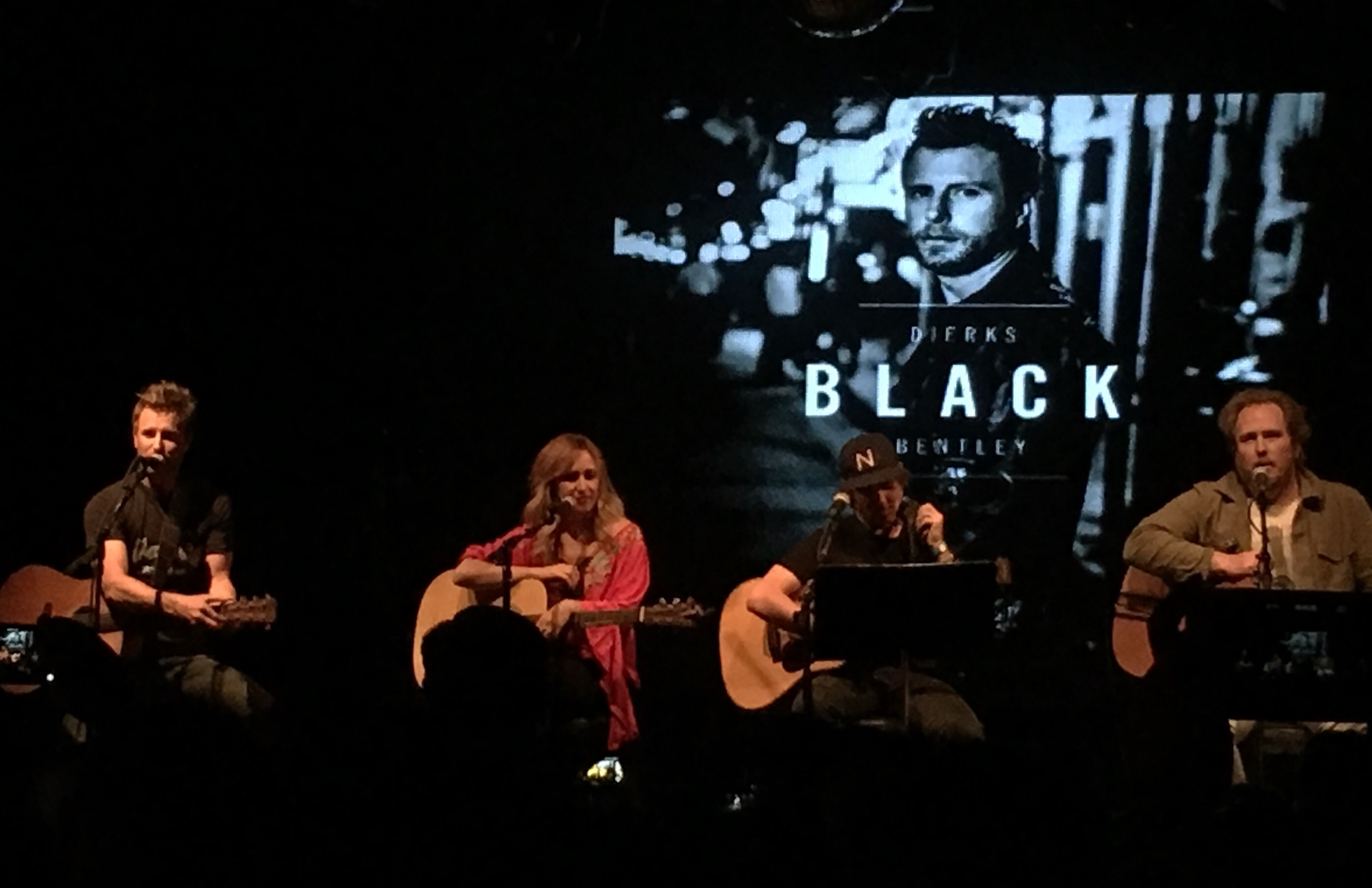 Dierks Bentley Hits Nyc With His Last Call Ball Songs From The Album Black The Shotgun Seat