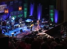 Jason Isbell, who took home Album of the Year and Song of the Year, performs with wife Amanda Shires